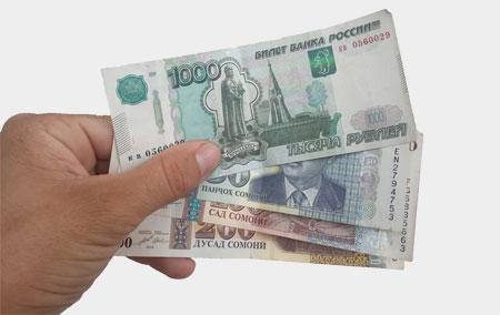 Курс рубля к сомони в Таджикистане на сегодня в 2021 году на всех банках