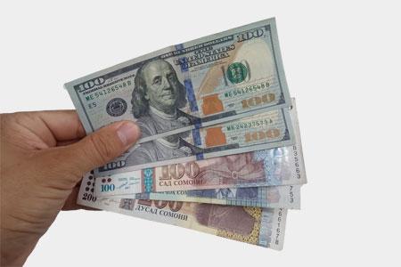 Курс доллара к сомони в Таджикистане на сегодня в 2021 году